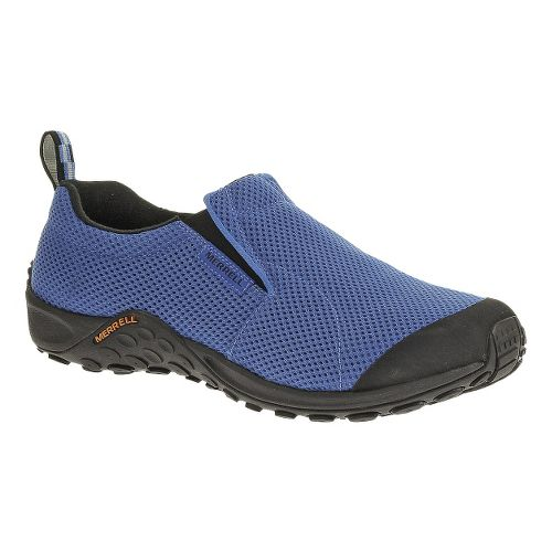 Mens Merrell Jungle Moc Touch Breeze Casual Shoe - Blue 9.5
