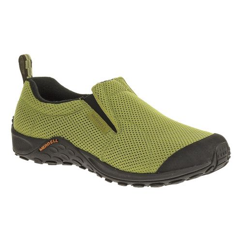 Mens Merrell Jungle Moc Touch Breeze Casual Shoe - Moss 10