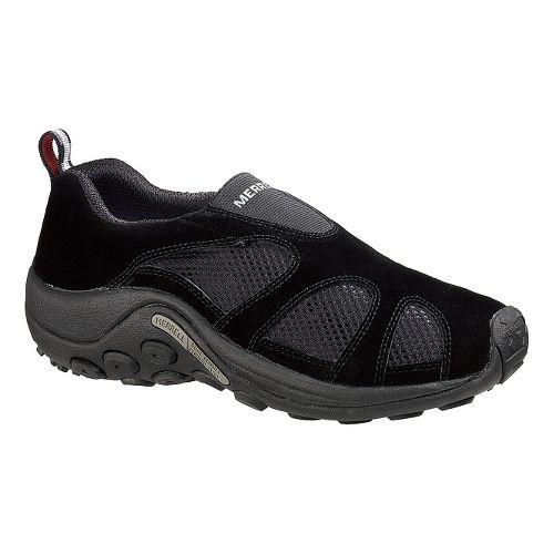 Mens Merrell Jungle Moc Ventilator Casual Shoe - Black 12.5