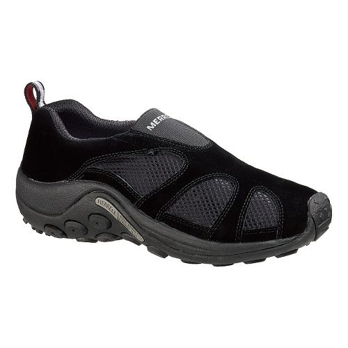 Mens Merrell Jungle Moc Ventilator Casual Shoe - Black 7.5