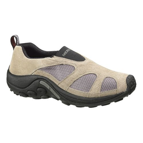 Mens Merrell Jungle Moc Ventilator Casual Shoe - Taupe 10
