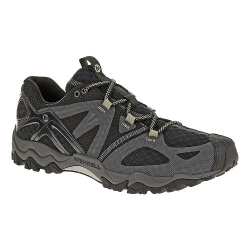 Mens Merrell Grasshopper Air Hiking Shoe - Black 10.5