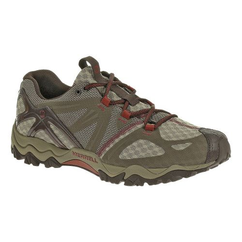 Mens Merrell Grasshopper Air Hiking Shoe - Dark Taupe 7.5