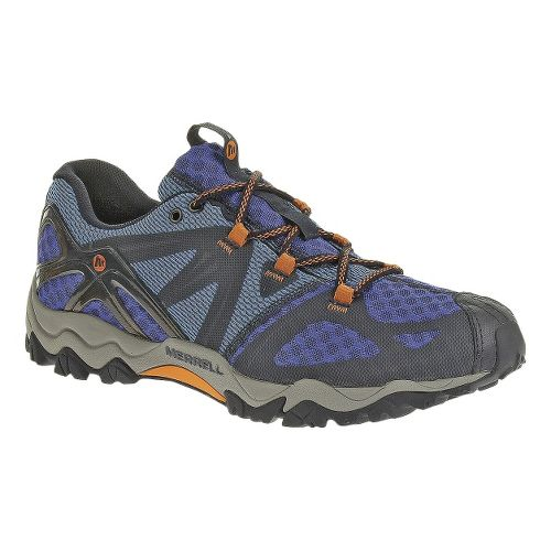 Mens Merrell Grasshopper Air Hiking Shoe - Navy 10.5