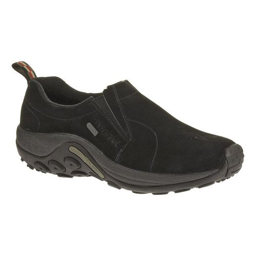 Mens Merrell Jungle Moc Waterproof Casual Shoe - Black 11.5