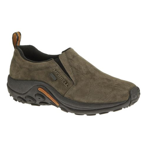 Mens Merrell Jungle Moc Waterproof Casual Shoe - Gunsmoke 14
