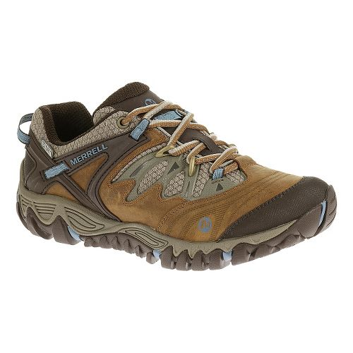 Womens Merrell Allout Blaze Hiking Shoe - Brown Sugar 7