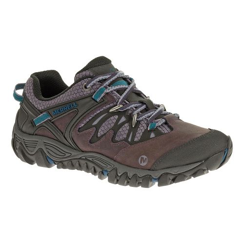 Womens Merrell Allout Blaze Hiking Shoe - Plum Perfect 10