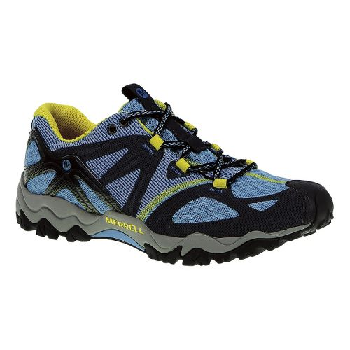 Womens Merrell Grasshopper Air Hiking Shoe - Blue/Navy 7.5