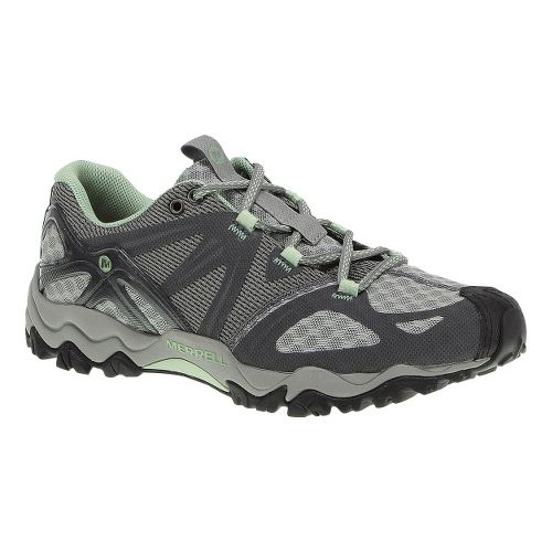 Womens Merrell Grasshopper Air Hiking Shoe - Granite/Mint 8.5