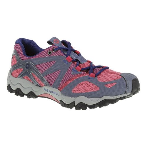 Womens Merrell Grasshopper Air Hiking Shoe - Pink/Grey 7.5