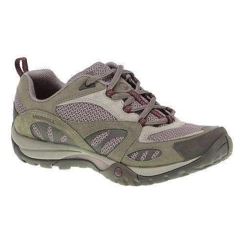Womens Merrell Azura Hiking Shoe - Aluminum/Rose 8.5