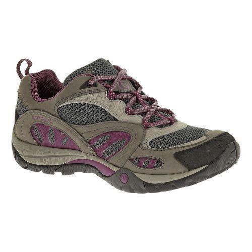 Womens Merrell Azura Hiking Shoe - Castlerock/Purple 6