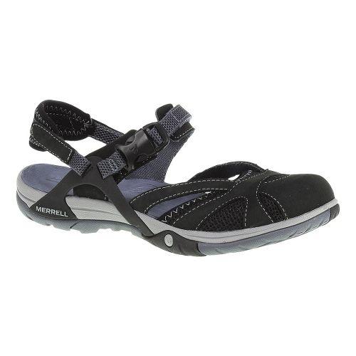 Womens Merrell Azura Wrap Sandals Shoe - Black 12