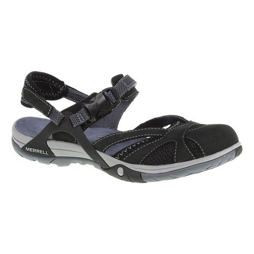 Womens Merrell Azura Wrap Sandals Shoe - Black 5