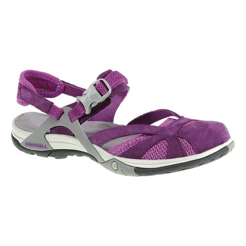 Womens Merrell Azura Wrap Sandals Shoe - Dark Purple 5