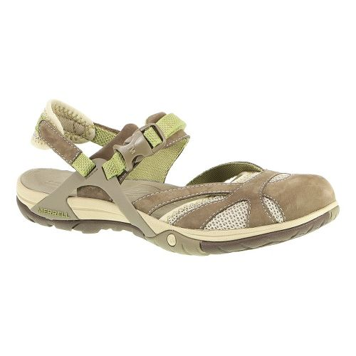 Womens Merrell Azura Wrap Sandals Shoe - Otter 10