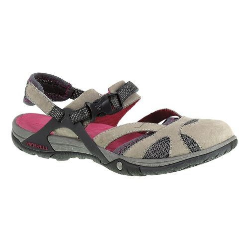Womens Merrell Azura Wrap Sandals Shoe - Wild Dove 5