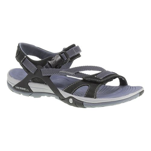 Womens Merrell Azura Strap Sandals Shoe - Black 5