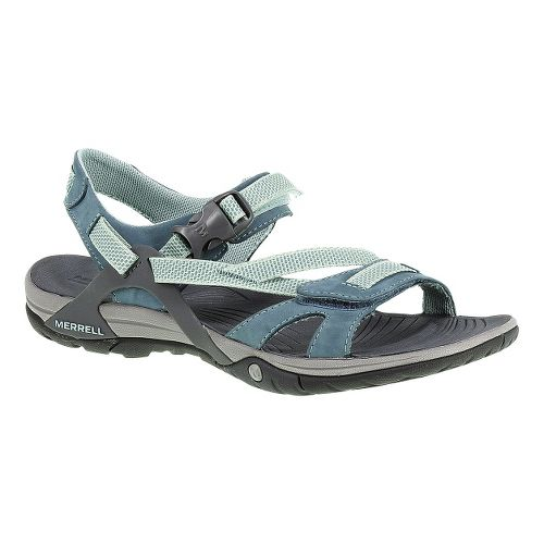 Womens Merrell Azura Strap Sandals Shoe - Bering Sea 5