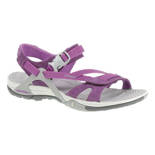 Womens Merrell Azura Strap Sandals Shoe - Dark Purple 5