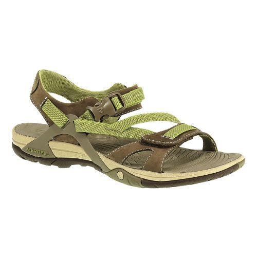 Womens Merrell Azura Strap Sandals Shoe - Otter 6