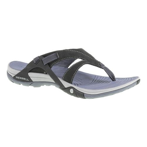 Womens Merrell Azura Flip Sandals Shoe - Black 8