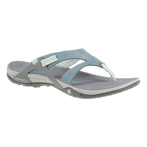 Womens Merrell Azura Flip Sandals Shoe - Bering Sea 10