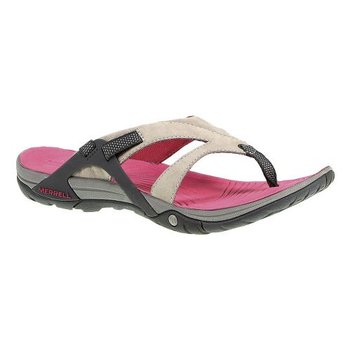 Womens Merrell Azura Flip Sandals Shoe - Wild Dove 10