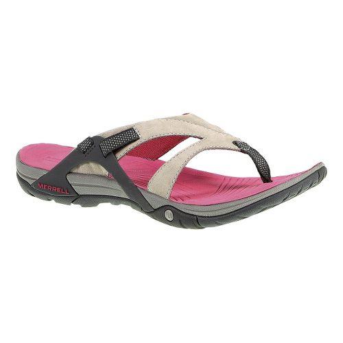 Womens Merrell Azura Flip Sandals Shoe - Wild Dove 5