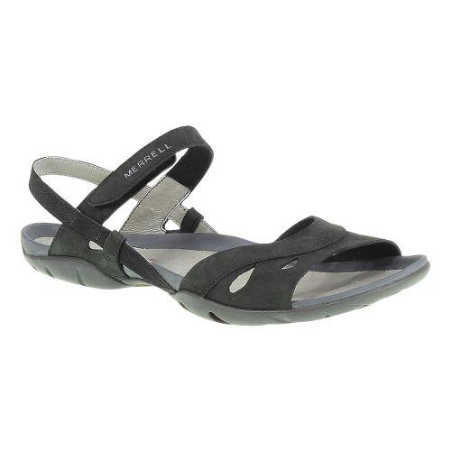 Womens Merrell Flicker Wrap Casual Shoe - Black 7