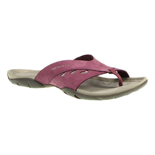 Womens Merrell Flutter Wrap Sandals Shoe - Blushing 5