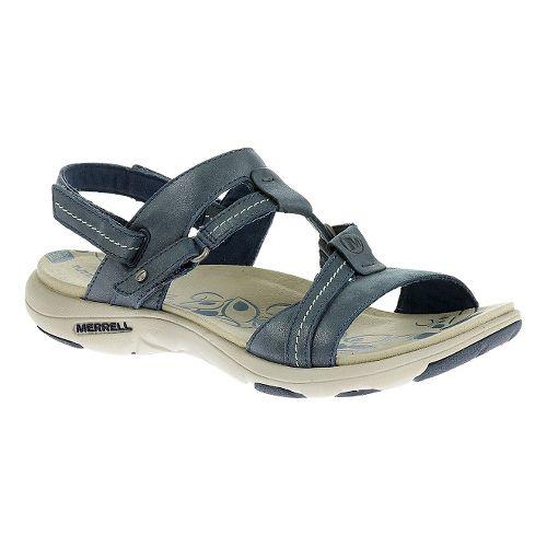 Womens Merrell Swivel Lavish Sandals Shoe - Harbor Blue 5