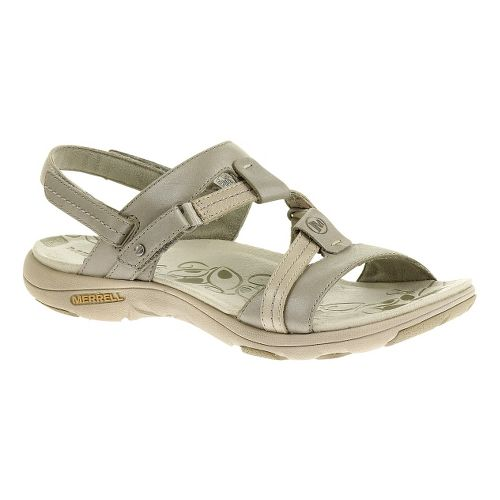 Womens Merrell Swivel Lavish Sandals Shoe - Aluminum 5