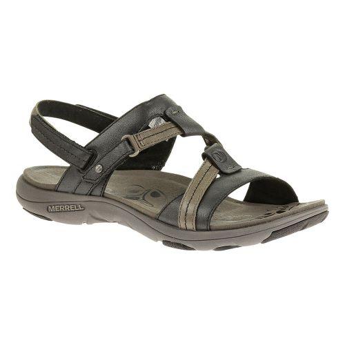 Womens Merrell Swivel Lavish Sandals Shoe - Midnight 8