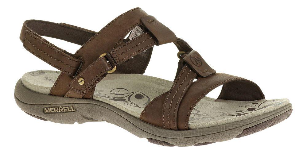 Womens Merrell Swivel Leather Athletic Sandals   EBay