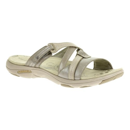 Womens Merrell Sway Lavish Sandals Shoe - Aluminum 7