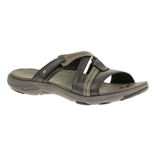 Womens Merrell Sway Lavish Sandals Shoe - Midnight 6