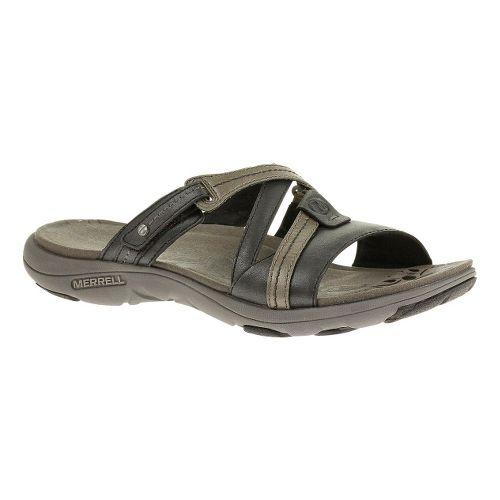 Womens Merrell Sway Lavish Sandals Shoe - Midnight 7