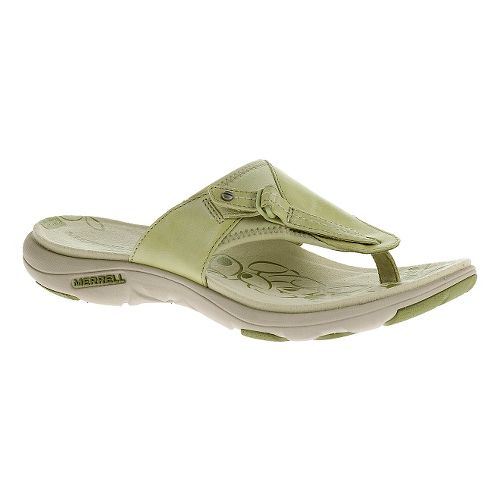 Womens Merrell Grace Lavish Flip Sandals Shoe - Tea Leaf 5
