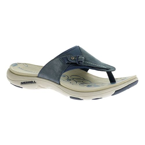 Womens Merrell Grace Lavish Flip Sandals Shoe - Harbor Blue 10