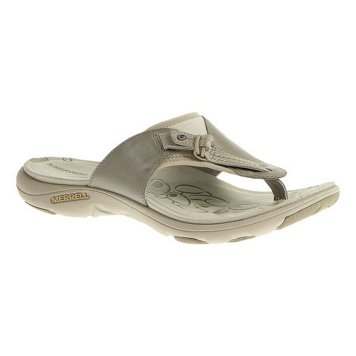 Womens Merrell Grace Lavish Flip Sandals Shoe - Aluminum 10