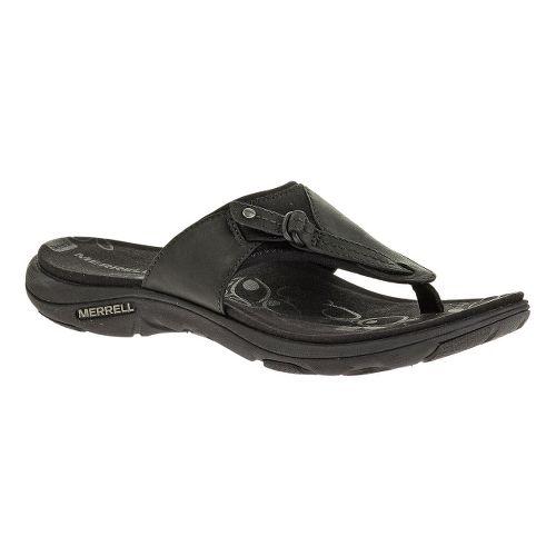 Womens Merrell Grace Leather Flip Sandals Shoe - Wild Poppy 12