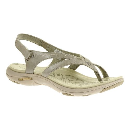 Womens Merrell Buzz Lavish Sandals Shoe - Aluminum 11