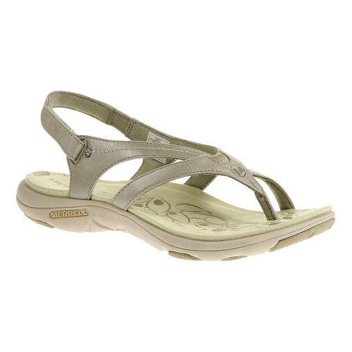 Womens Merrell Buzz Lavish Sandals Shoe - Aluminum 9