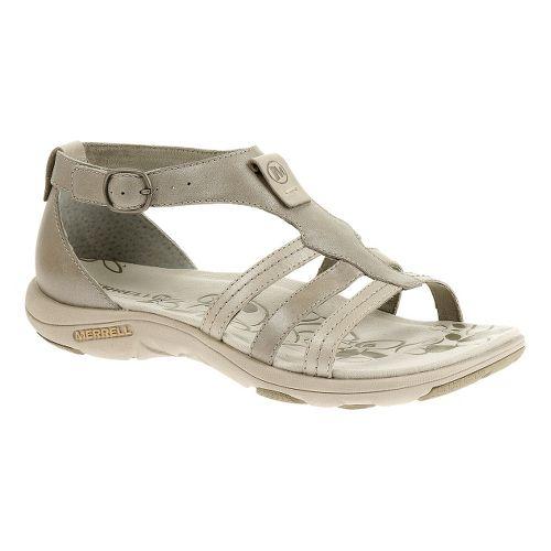 Womens Merrell Cantor Lavish Sandals Shoe - Aluminum 9