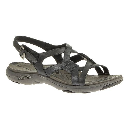 Womens Merrell Agave 2 Lavish Sandals Shoe - Midnight 5