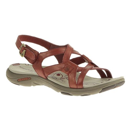 Womens Merrell Agave 2 Lavish Sandals Shoe - Red Ochre 5
