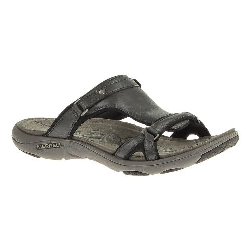 Womens Merrell Glade 2 Lavish Sandals Shoe - Midnight 6