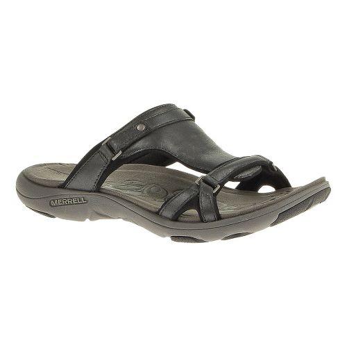 Womens Merrell Glade 2 Lavish Sandals Shoe - Midnight 7